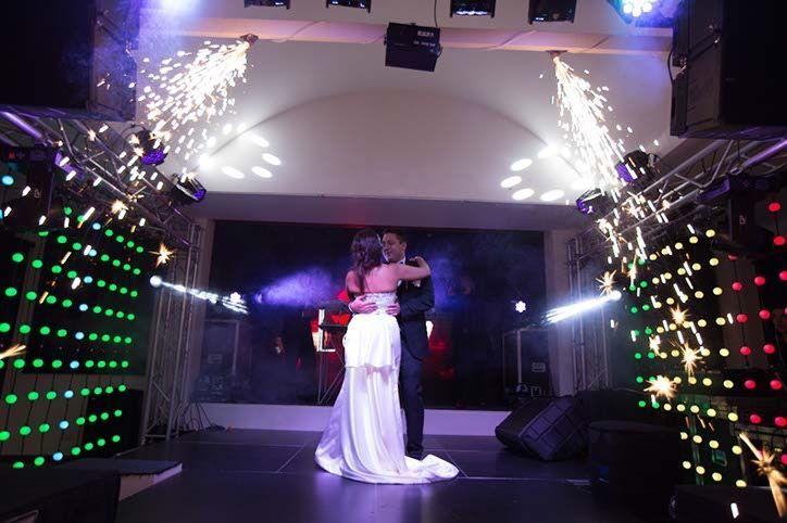 Un hermoso montaje en la boda de Lina & Dario en Hacienda Casa del Lago.