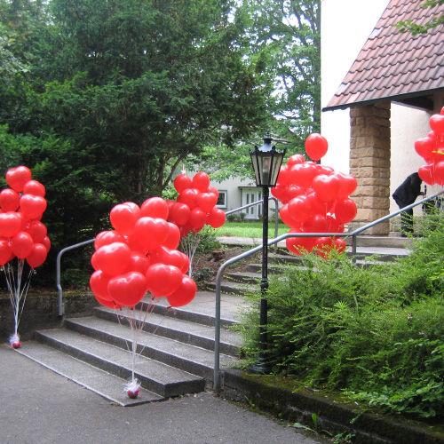 Beispiel: Ballons zur Hochzeit, Foto: Ballonwerk.