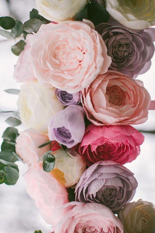 Blumen-Dekor