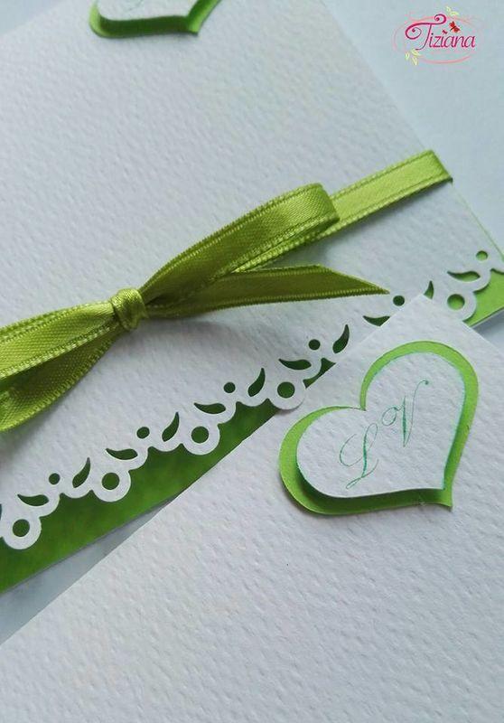 pochette verde mele