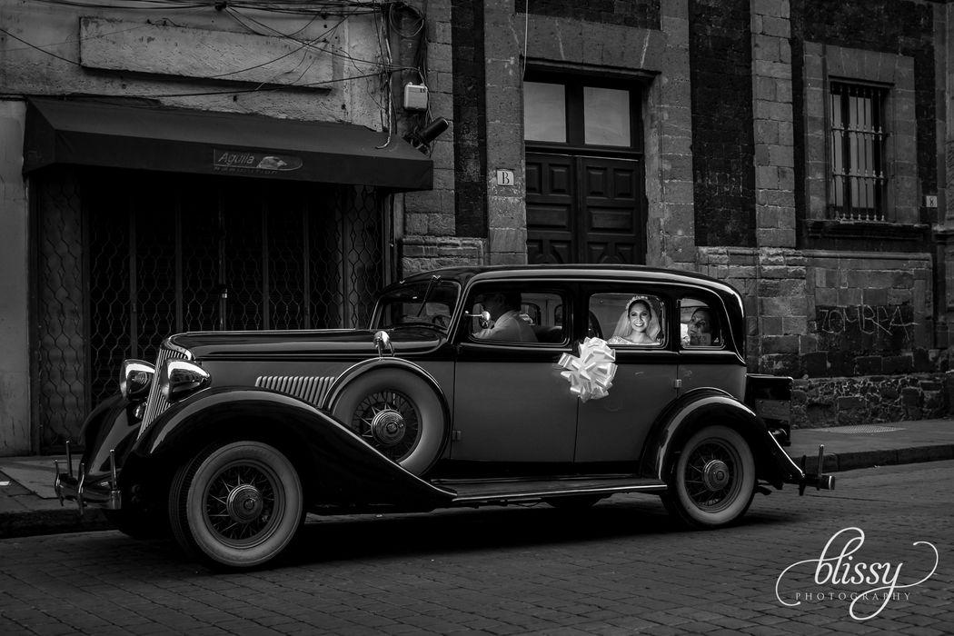 Llegada de la Novia. Ciudad de México