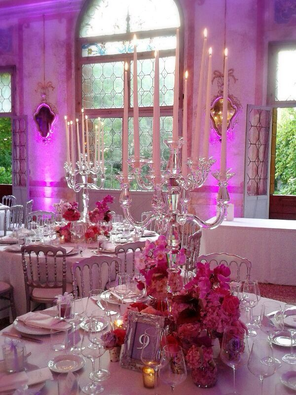Maison Mariage Party & Wedding Planner: Mise en place romantica