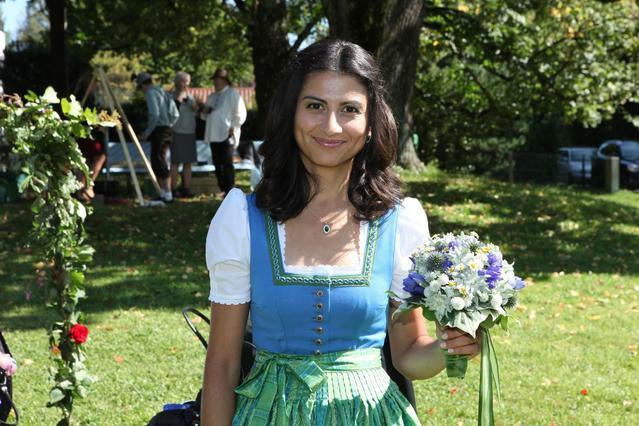 Beispiel: Passende Brautsträuße, Foto: Florales und Gestaltung.