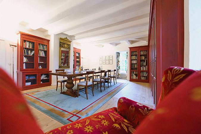 Beispiel: Obergeschoss - Salon, Foto: Hardenbergsches Haus.