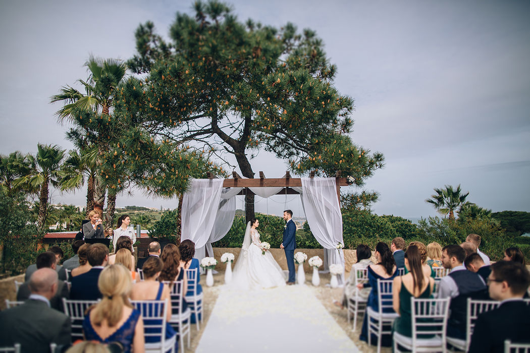 Dream Weddings Europe  - cérémonie de mariage vue sur mer