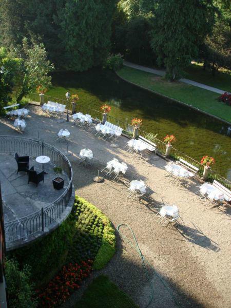 Beispiel: Gartenterrasse, Foto: Schloss Landshut.