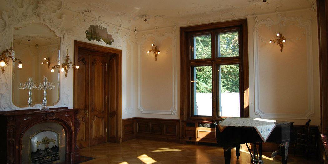 Beispiel: Räumlichkeiten, Foto: Schloss Sihlberg.