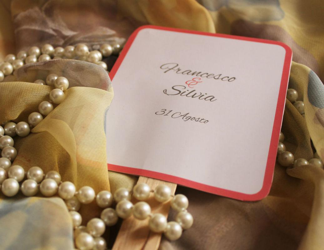 Coi Fiocchi wedding design - ventaglio