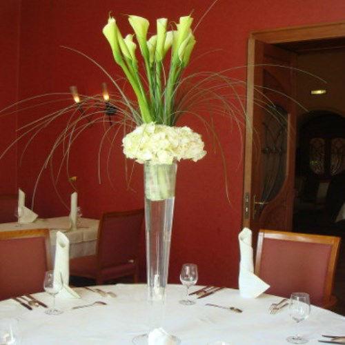 Beispiel: Hochzeitsdekoration, Foto: AZ- Floristik und Dekoration.