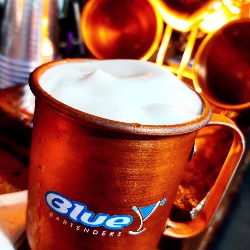 Blue Bartenders
