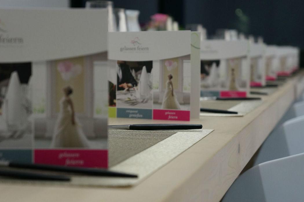 Beispiel: Professionelle Hochzeitsplanung, Foto: gelassen feiern Ihre Event Manufaktur.