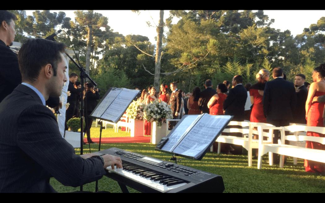 Cerimônia de Casamento - piano e violino