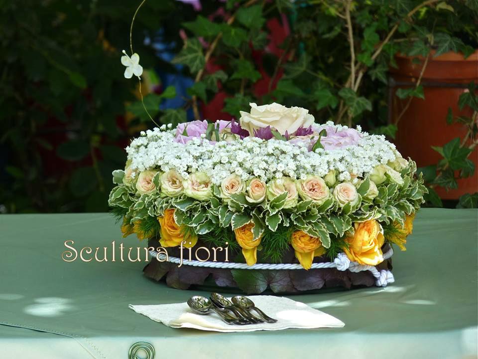 Torta floreale
