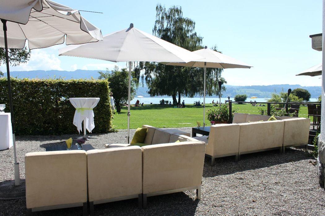 Beispiel: Apero, Foto: Villa Sunneschy.