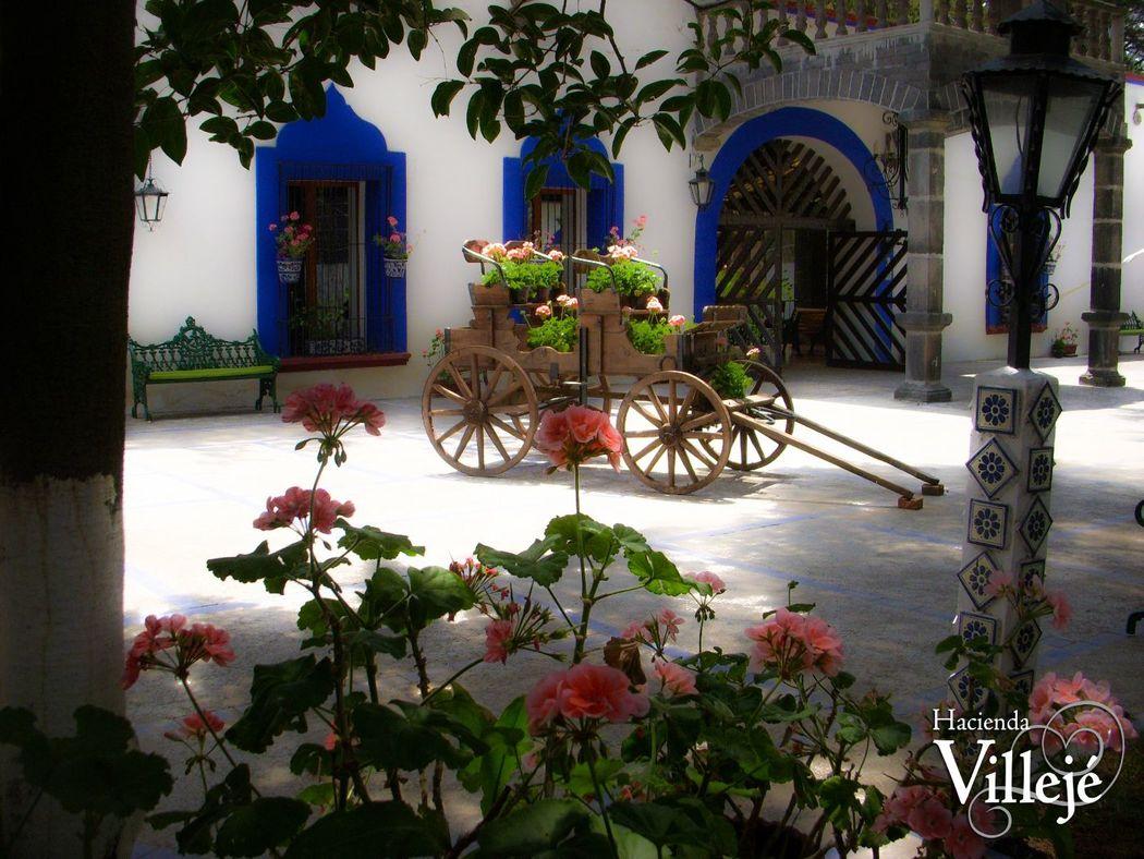 Hacienda Villejé tiene lugares con encanto!