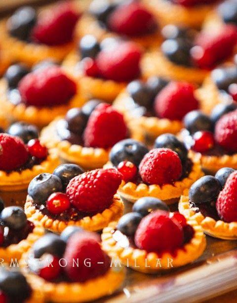 Mini bouchées aux fruits