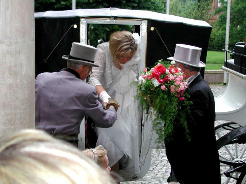 Beispiel: Brautkutsche, Foto: Schloss Reinbek.