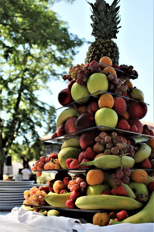 Pièce Montée de Fruits Frais