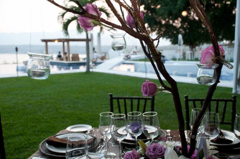 Decoración basada en las tendencias de bodas - Foto Casa Colima