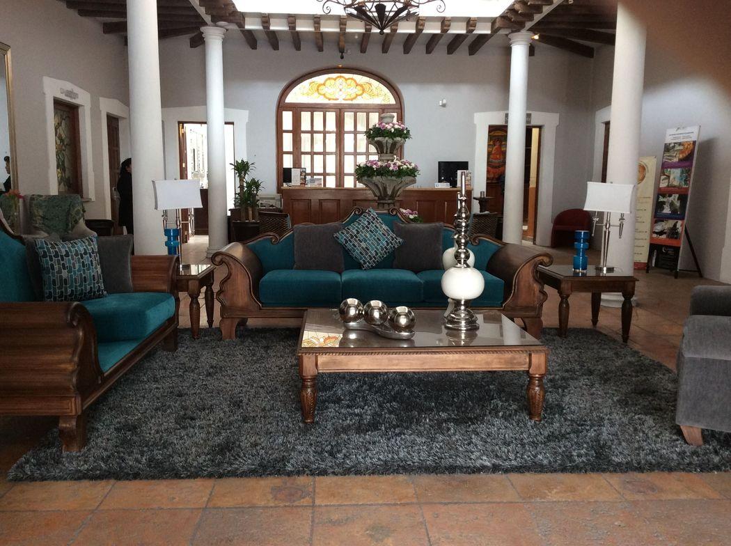 LOBBY HOTEL DOS PATIOS