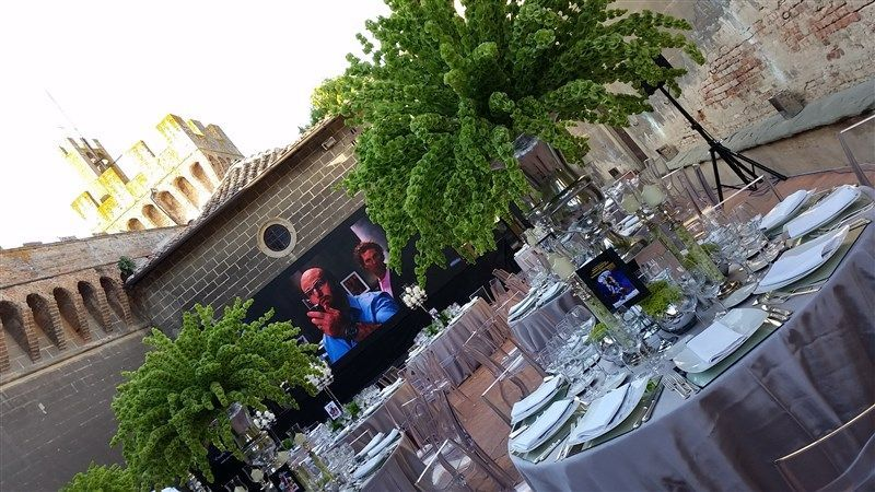 Lo Scalco catering ricevimenti Firenze Evento in tema moovie