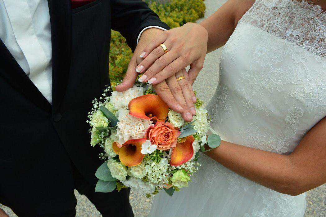 Danke liebes Brautpaar für dieses schöne Bild <3