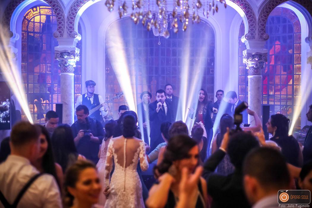 Banda Ópera Soul- Casamento no Palácio dos Cedros