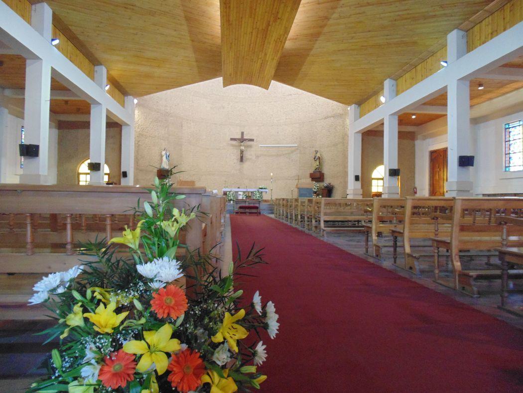 Boda en Iglesia San Agustín, Talca. Septiembre de 2016.