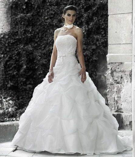 Robe de mariée Complicité en dépôt-vente chez Mariage en Rose.
