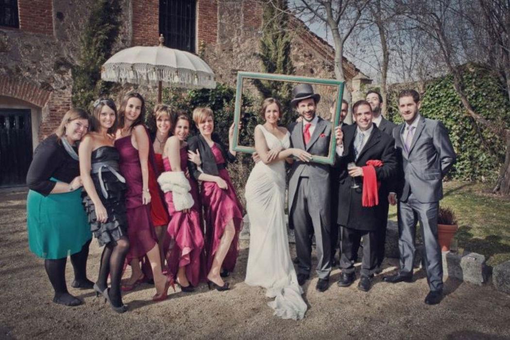Una boda de época con mucho encanto