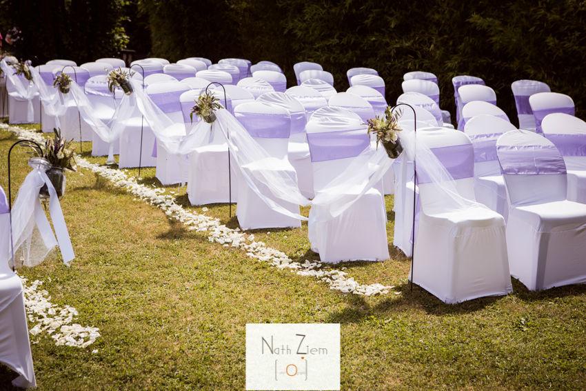 Cérémonie laïque by French Wedding Belles