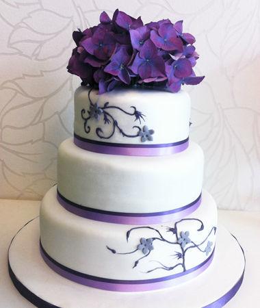 Beispiel: Hochzeitstorte, Foto: Emmas Konditorei.