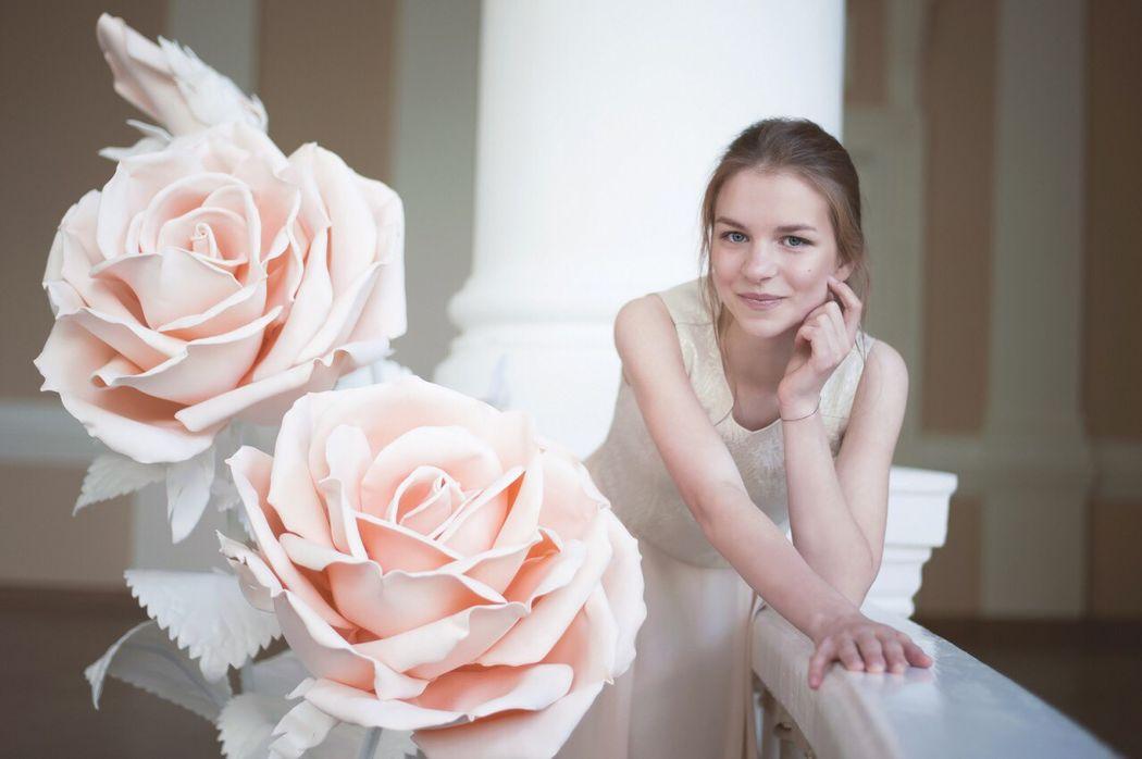 Большие цветы Anna Tsvetkova