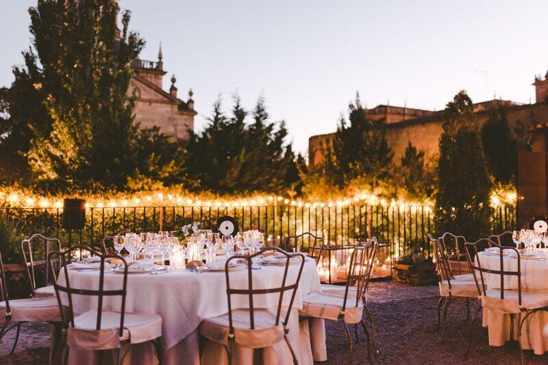 Jardines. Palacio de Montarco.