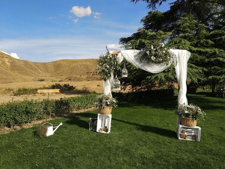 Hortensia arte floral