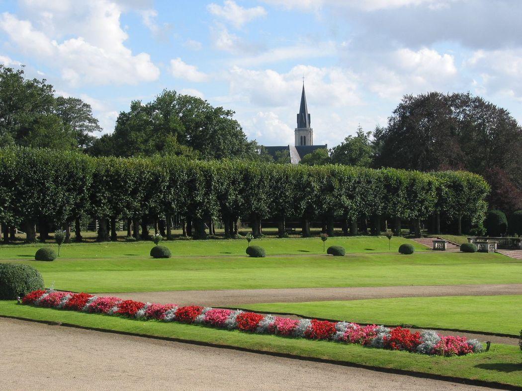 jardin à la française Château de Craon