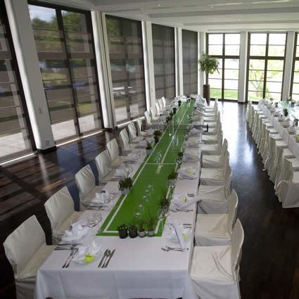 Beispiel: Festtagstafel, Foto: Landhaus am See.