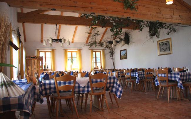 Beispiel: Ambiente Restaurant, Foto: Landgasthof Berg.