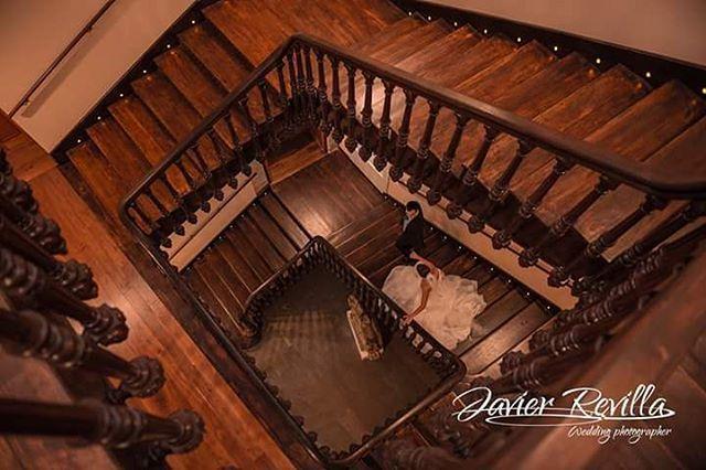 Bajando escaleras