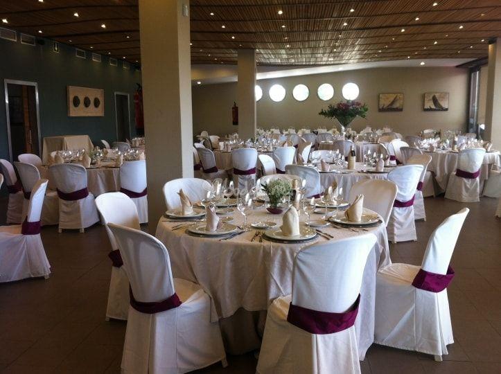 Gran salón de banquete