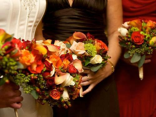 Beispiel: Von Brautkleid bis Brautstrauß, Foto: Hochzeitsplaner München.