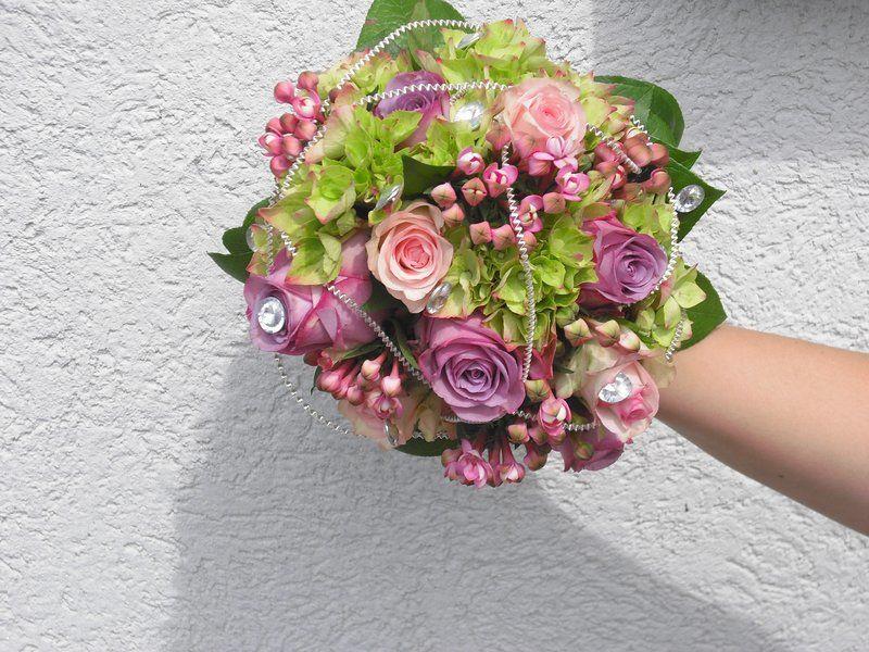 Beispiel: Brautstrauss, Foto: Blumen Kosak.