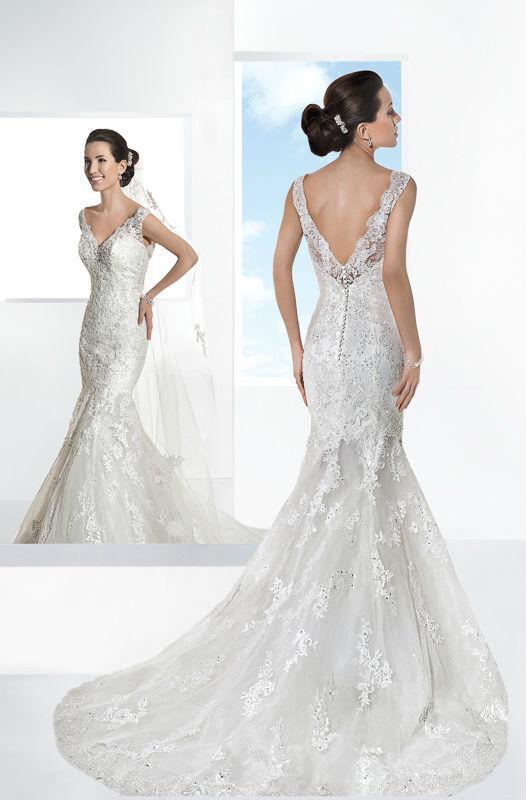 Beispiel: Hochzeitskleider nach Ihrem Geschmack, Foto: Mode Wicky.