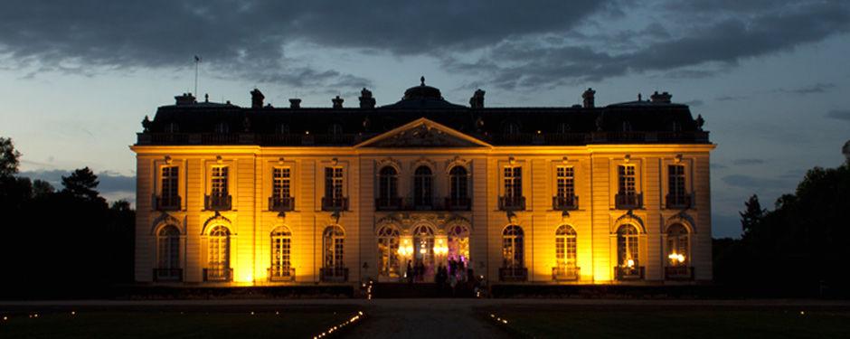 Château de Pont-Chevron de nuit