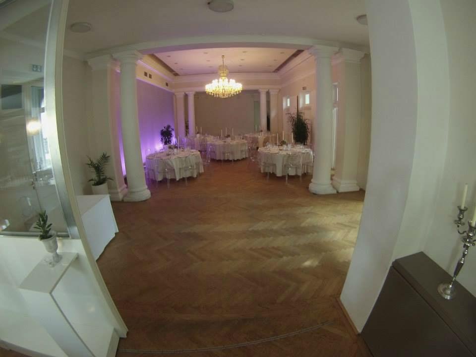 Beispiel: Eindruck von den Räumlichkeiten, Foto: Kursalon Mödling.