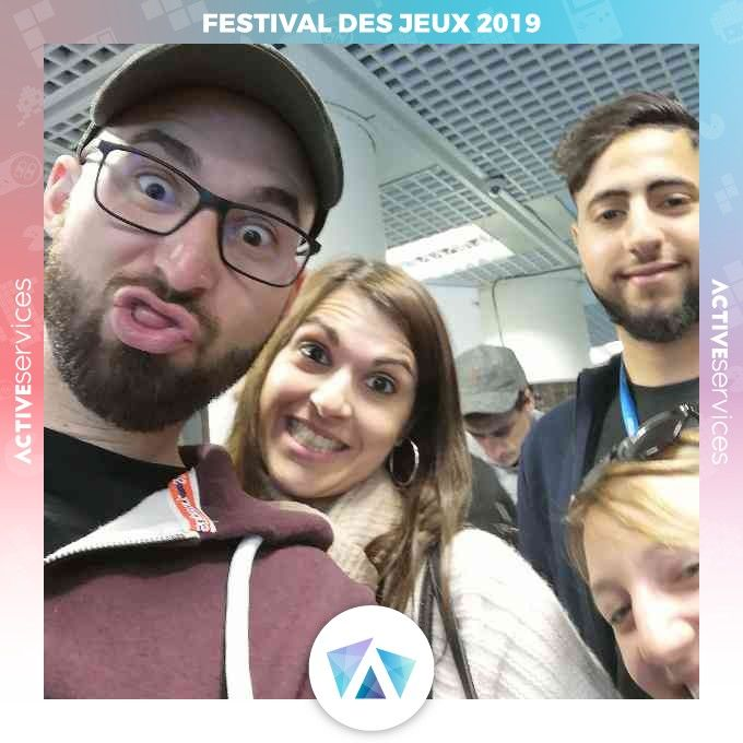 ActiveServices - Animation mariage Selfies !