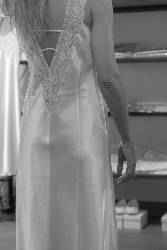 Espalda camisón Rania