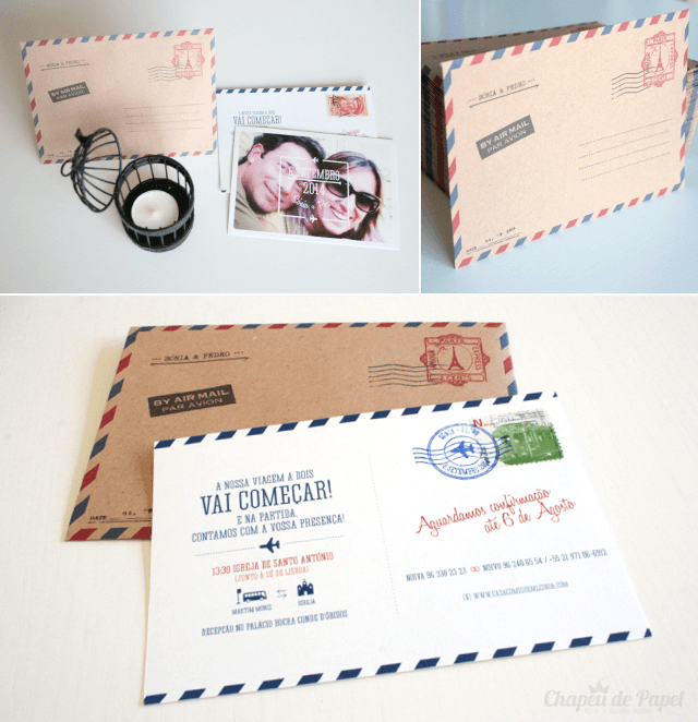 Convites de Casamento Viagens II