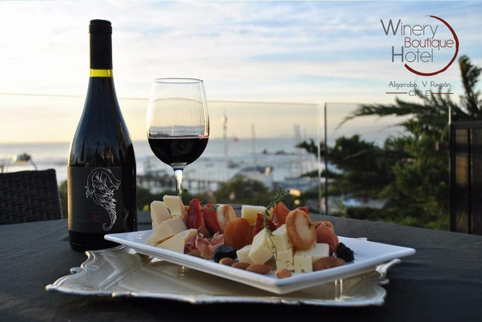 Winery boutique hotel