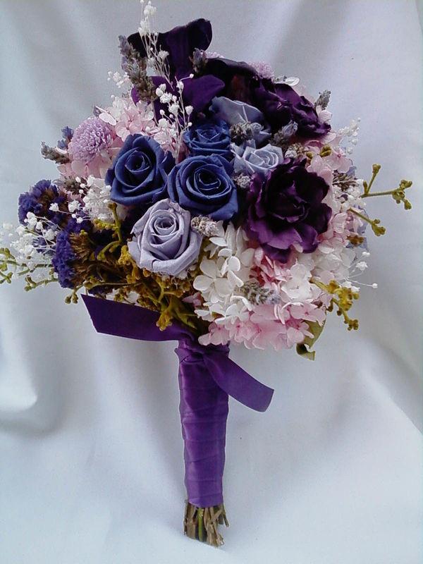 Flor de Cór - buquê desconstruído de flores naturais preservadas